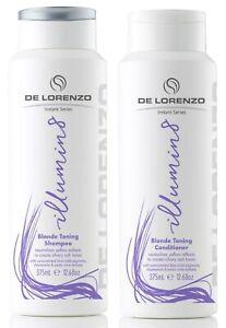 DELORENZO ILLUMIN8 SHAMPOO 375 ML AND CONDITIONER 375 ML DE LORENZO