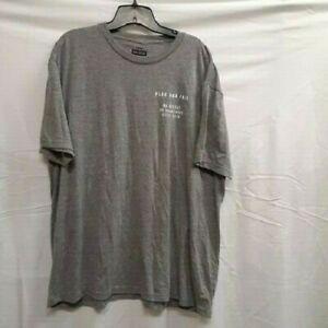 Flag Nor Fail Mens Gray Short Sleeve Crew Neck Pullover T Shirt Size XXL