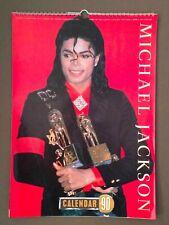 MICHAEL JACKSON calendar 1990 by by Culture Shock UK (H.8)