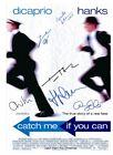 Catch me if you can signed Tom Hanks Leonardo DiCaprio Christopher Walken,...