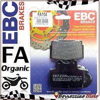 PASTIGLIE FRENO POSTERIORE EBC FA104 YAMAHA FZS / FAZER 600 1998-2003