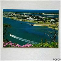 Lakes Entrance East Gippsland Victoria Panoramic View 1986 Postcard (P608)