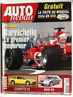AUTO HEBDO du 29/09/2004; F1 Chine; Barrichello/ Corvette C6/ BMW M5