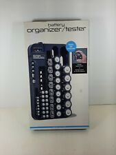 Nib Perfect Solutions Battery Organizer / Tester ~ holds 68 batteries