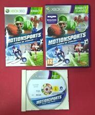 MotionSports - XBOX 360 - USADO - MUY BUEN ESTADO ( Requiere Sensor Kinect )