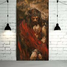The Passion of Christ Art - Canvas Print (unframed) - 43cm tall x 20cm wide