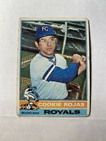1976 Topps Cookie Rojas Kansas City Royals #311 Base Card