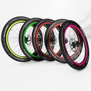 Felgenaufkleber Fahrrad - Felgenrandaufkleber Bike - Felgenaufkleber - Laufrad