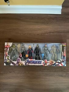 "6pcs/set The Avengers Endgame SuperHero 6"" Action Figures"