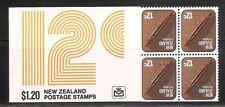 New Zealand SC # 612 putorino. Complete Booklet.MNH