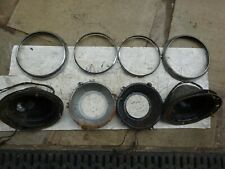 Mg Midget Headlamp Assemblies Pair