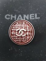 100%  Chanel button 1 pieces   metal cc logo 1 inch 26 mm