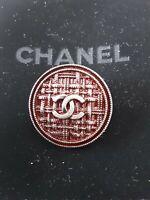 100%  Chanel button 1 pieces   metal cc logo 1 inch 26 mm