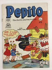 1953 SPANISH MEXICAN COMICS PEPITO #5 HORACE & DOTTY DRIPPLE LA PRENSA MEXICO