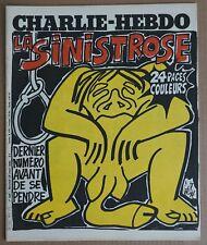 Charlie-Hebdo N° 489. La Sinistrose. 24 pages couleurs. 1980. Gébé