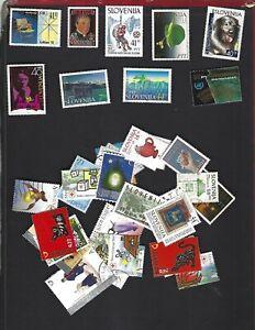 Slovenia sc#138-40,142,144-5,165-6,173 (1992-3) MNH + Nice lot