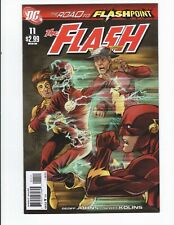 The Flash 11 The Road to Flashpoint -(NM)- 1st Print - Combine Shipping
