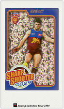 2010 AFL Herald Sun Cards Sharp Shooters Subset SS2 Johnathan Brown (Brisbane)