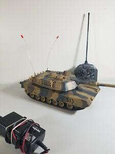 "16"" 1:24 RC Airsoft Battle Tanks Camo Military BB Turret R/C M1A2 Abrams"