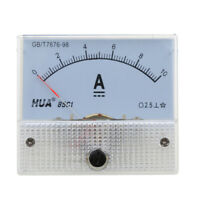 New DC 0-10A Analog Amp Meter Ammeter Current Panel