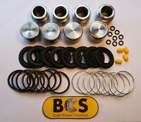 BMW 6 SERIES E24 Front Brake Caliper Piston Repair Kit (4 piston) BCSKP177