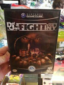 Def Jam: Fight for NY (Nintendo GameCube, 2004) Black Label