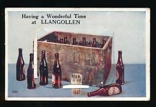 Wales Denbighshire LLANGOLLEN Beer Bottles Pocket Novelty 1951 PPC