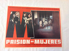 RARE VINTAGE MEXICAN MOVIE POSTER 1977 Prision de Mujeres Women in Prison