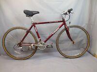 "Trek 7600 Multitrack Comfort Hybrid Bike 1995 Large 18"" Shimano 400 US Charity!!"