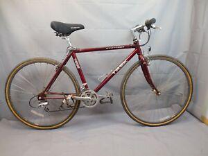 "1995 Trek 7600 Multitrack Comfort Hybrid Bike Large 18"" Shimano 400 USA Charity!"