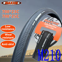 Maxxis 700x23c/25c Folding Road Bike Tire M210Black 60TPI Silk Worm Bicycle Tyre