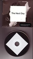 """DAVID BOWIE """"The Next Day"""" 14 Track PROMO CD ONLY"""
