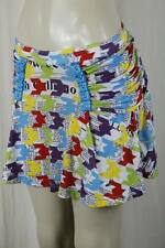 $290.00 JOHN GALLIANO skirt Bikini Newsprint Authentic size 42 Italy 8 Usa