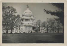 VINTAGE IMAGE OF THE US CAPITOL  BUILDING IN THE 1940S