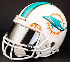Miami Dolphins Nfl Authentic Gameday Football Helmet w/ Mirror Eye Shield
