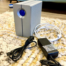 lacie 2big thunderbolt 2 W/box, Cables, And Rack Kit