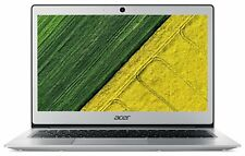 Acer Swift 1 13.3 Inch Pentium N4200 4GB 128GB SSD Laptop - Silver.