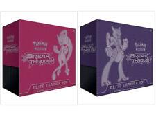 Breakthrough Elite Trainer Box Set of 2 Pokemon TCG Sealed Mega Mewtwo X & Y