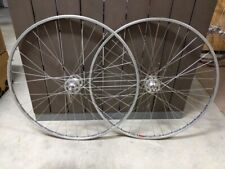 Vintage Pair of Cycling Road Wheels - Campagnolo