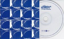 CHEMICAL BROTHERS MIDNIGHT MADNESS 1 TRACK DJ PROMO CD