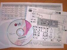 Manuale utente su CD - televisori LG led