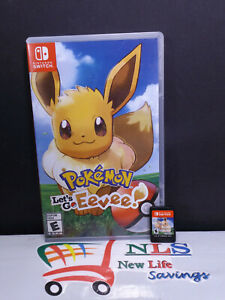 Nintendo switch pokemon let's go eevee!