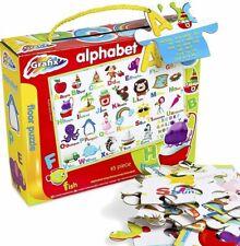 Alphabet Floor Puzzle Jigsaw 45 Piece Educational Kids Animal ABC Giant Age 3 4