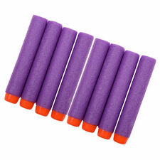 10pcs Bullet Darts Blasters For NERF N-Strike Refill Gun Kids Toys Purple