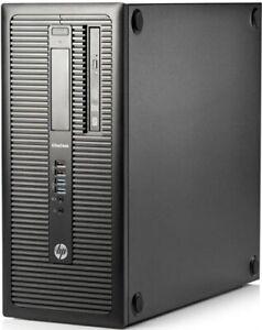 PC HP EliteDesk 800 G1 Intel Core i5-4570 3.20 GHz 4 GO HDD 500 GO graveur DVD