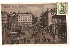 3194.-MADRID -Puerta del Sol (Enviada a Bruselas en 1932)(FOTO)