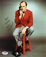 BOB NEWHART SIGNED AUTOGRAPHED 8x10 PHOTO COMEDY LEGEND PSA/DNA