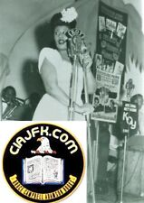 New listing 1940s Ella Fitzgerald -Singer 8 x 10 Photograph At Koy Arizona Concert Dad's Dj