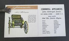 CORNWELL APPLIANCES Albany NY Ink Blotter with 1904 Holsman