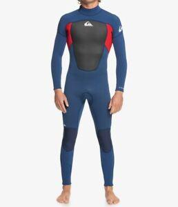 QUIKSILVER Men's 3/2 PROLOGUE BZ Wetsuit - XBBR  Size XLarge Short LAST ONE LEFT